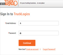 Truck Logics Web Application